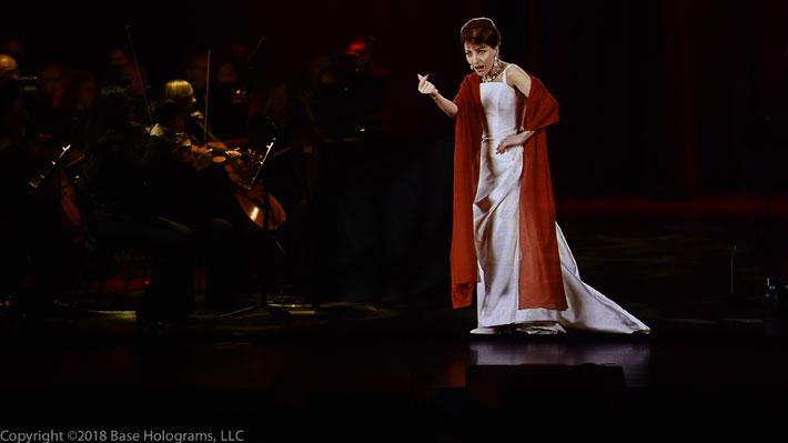 María Callas vuelve a la vida con impactante show tecnológico