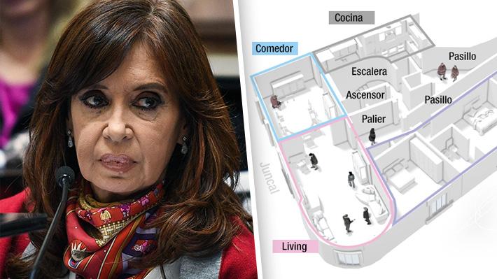 Cómo son las propiedades de Cristina Fernández que son allanadas en Argentina