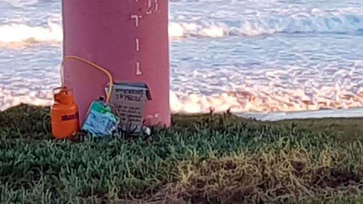 GOPE indaga instalación de presunto artefacto explosivo en muelle de Quintero