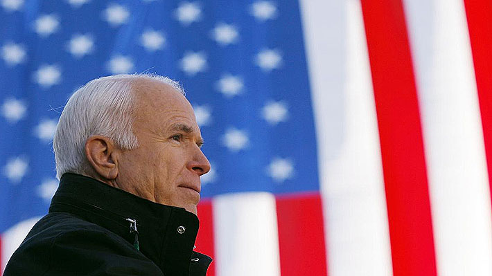Ex Presidentes estadounidenses se suman a las condolencias por muerte de John McCain