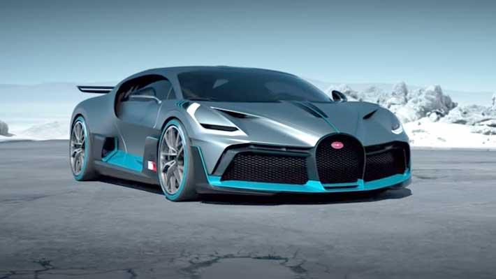 Bugatti presentó el Divo, un superdeportivo de 5 millones de dólares y 1.500 CV