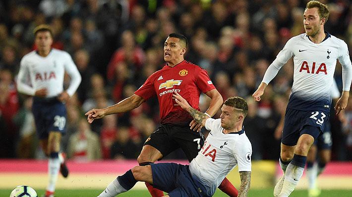 Alexis Sánchez ingresó en estrepitosa caída del United ante el Tottenham con la que Mourinho quedó muy complicado