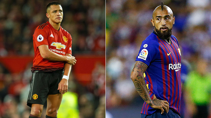 El irregular inicio de temporada que están teniendo Alexis Sánchez y Arturo Vidal en Europa