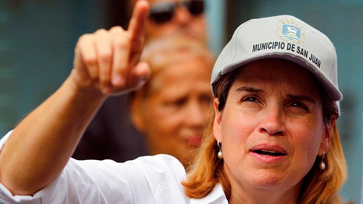 """Huracán María: Alcaldesa acusa a Trump de """"matar a los puertorriqueños con su negligencia"""""""