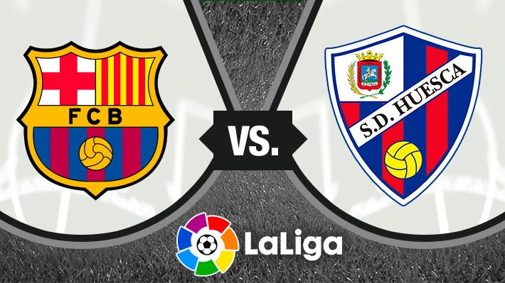 Así fue la impresionante goleada del Barcelona de Vidal sobre el Huesca