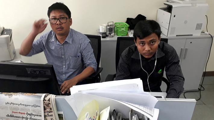 La detención de dos periodistas en Myanmar que se convirtió en el primer desafío de Bachelet en la ONU
