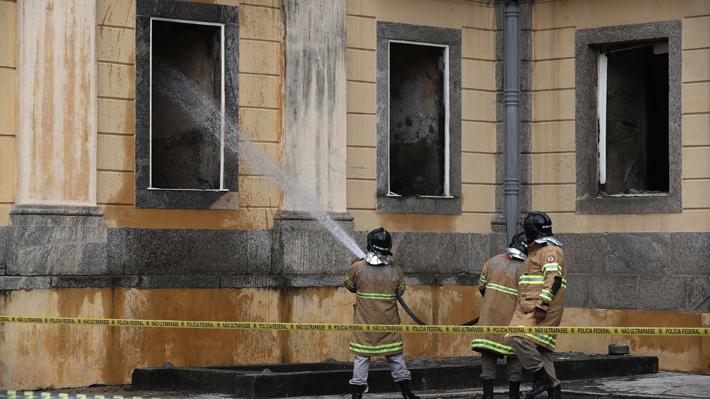 Museo Nacional de Río no contaba con seguro para proteger su patrimonio