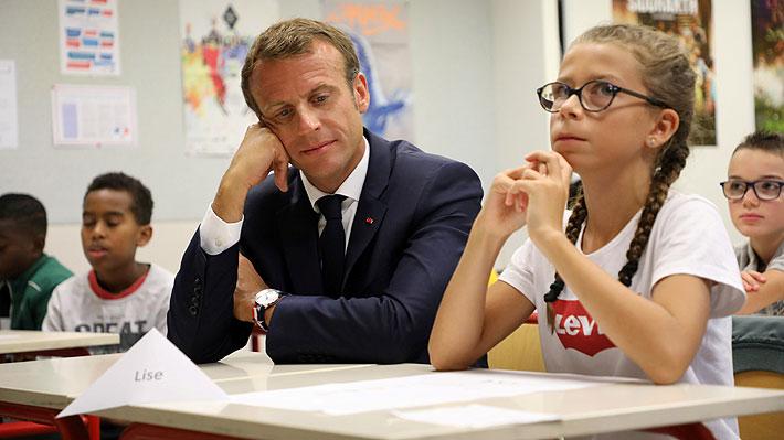 Estudiantes franceses inician un nuevo año escolar sin teléfonos celulares en los colegios