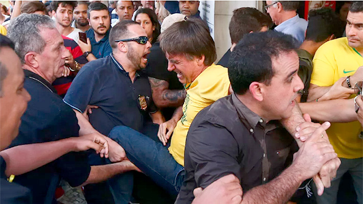 Candidato presidencial ultraderechista es apuñalado durante acto de campaña en Brasil