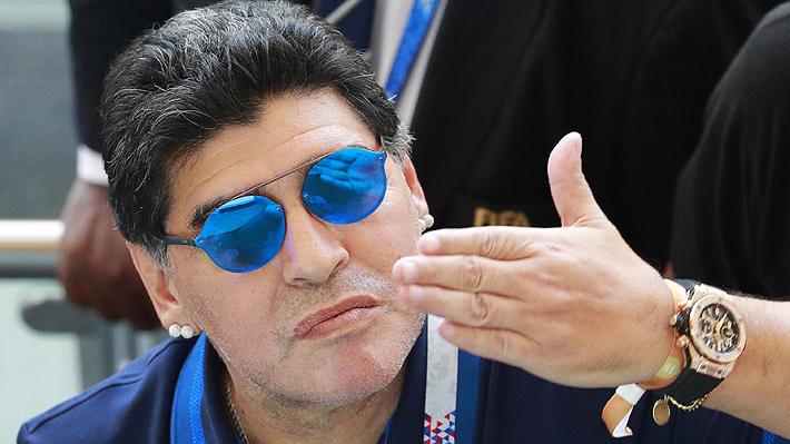 Dorados de Sinaloa confirma la llegada de Diego Maradona como nuevo técnico del club