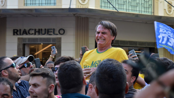 """Bolsonaro habla por primera vez tras ataque: """"Nunca he hecho mal a nadie"""""""