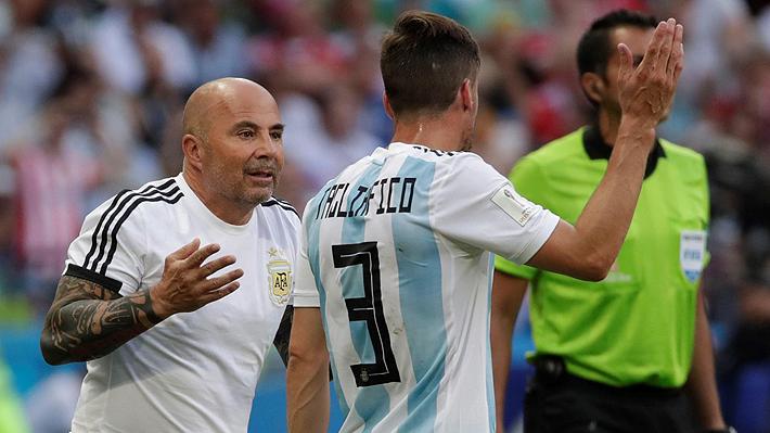 Nicolas Tagliafico Desclasifico Una Polemica De Argentina En El Mundial Y Cuestiono A Sampaoli Emol Com
