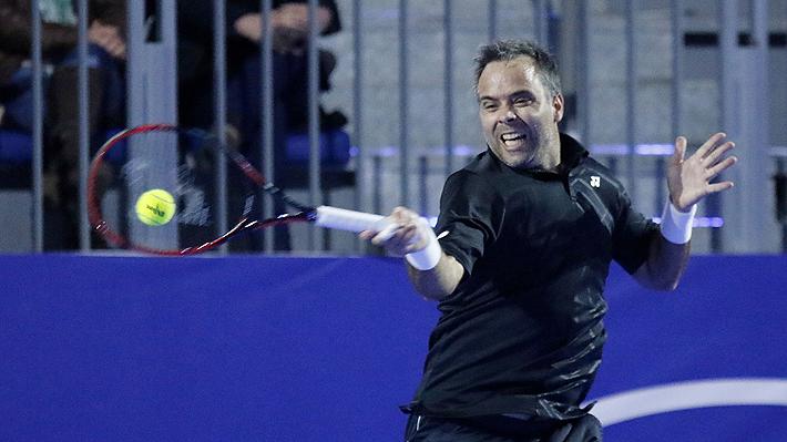 En un entretenido partido, Fernando González da muestras de su derecha y derrota a Nicolás Massú