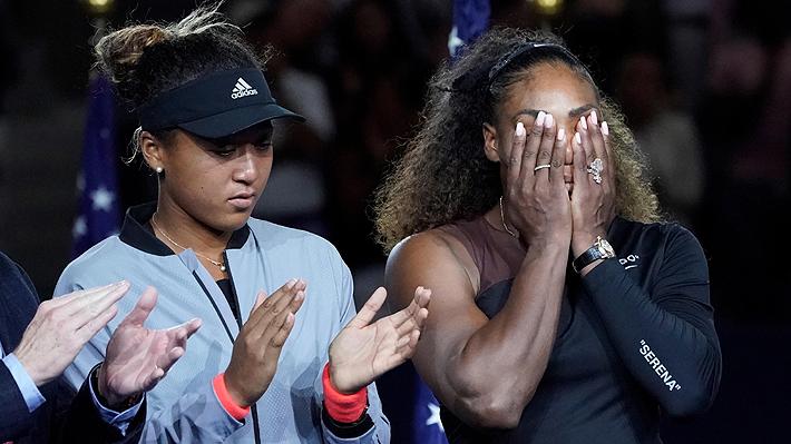 Naomi Osaka da el batacazo y gana el US Open tras vencer en la final a una descontrolada Serena Williams
