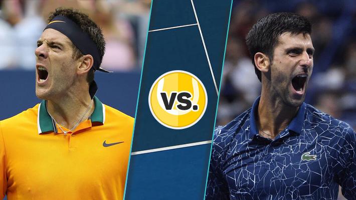 Reviva la sólida victoria de Djokovic sobre Del Potro en la final del US Open 2018