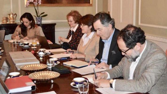 Caso Silala: Canciller Ampuero encabeza reunión de trabajo con agente Fuentes y equipo de defensa de Chile