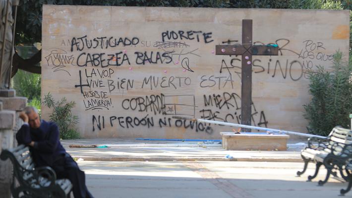 """Gobierno condena ataque a tumba de Jaime Guzmán: """"Nada justifica la violencia y el odio"""""""