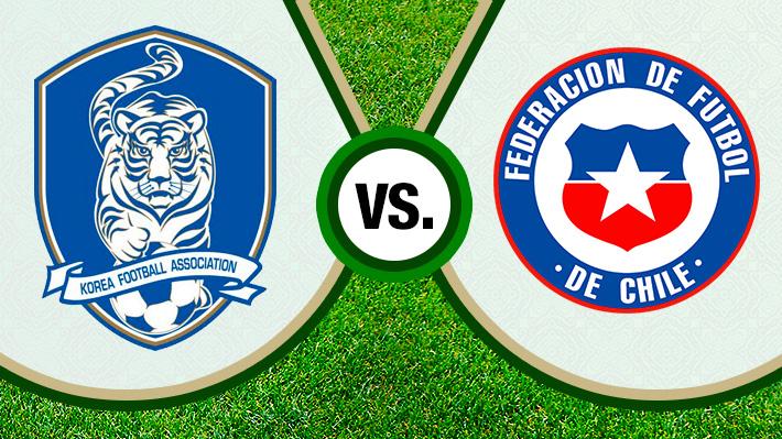 Repasa el empate de Chile en su visita a Corea en un nuevo amistoso de la era Rueda