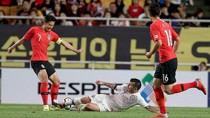 """Rueda sigue probando nombres y la """"Roja"""" empata en el amistoso con Corea del Sur"""
