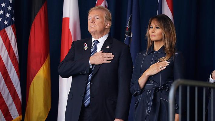 """A 17 años del 11-S, Trump afirma que EE.UU. """"jamás se rendirá a la tiranía"""""""