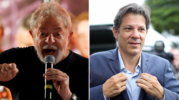 Lula decide bajar su candidatura presidencial y el PT nombra a Fernando Haddad como su reemplazante
