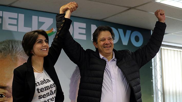 Haddad - D'Ávila: La joven fórmula presidencial de la izquierda brasileña que intentará heredar la popularidad de Lula