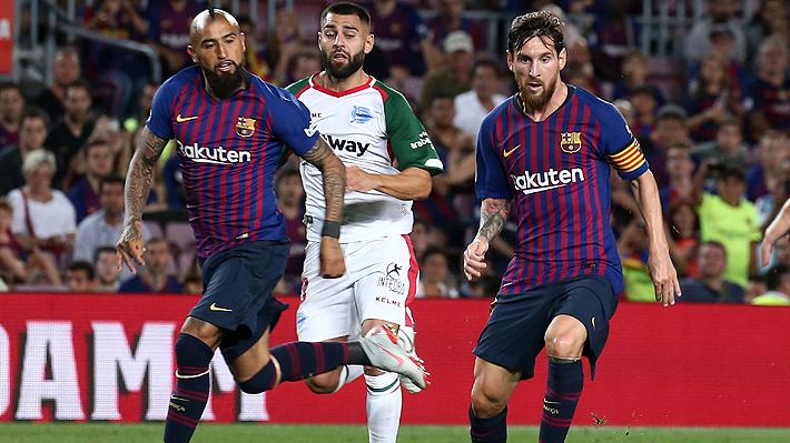 ¿Jugará más minutos? El extenso y duro calendario que se le viene al Barça en el que Vidal podría ser más protagonista