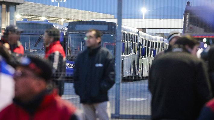 Transantiago: Subus opera al 70% tras la paralización de tres sindicatos de choferes que afecta a seis servicios