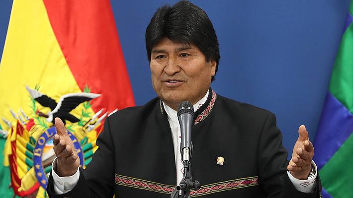 """Evo Morales y fallo en La Haya: """"A partir del 1 de octubre habrá una nueva historia para Bolivia y Chile"""""""