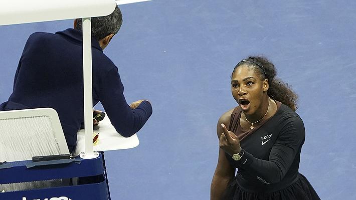 """Revelan supuestos descargos del juez que fue tildado de """"ladrón"""" y """"mentiroso"""" por Serena Williams en el US Open"""