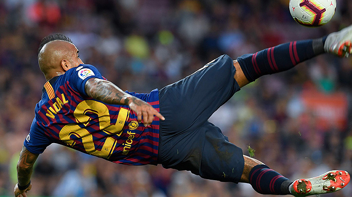 """En España aseguran que Vidal """"está loco por jugarlo todo"""", pero el técnico aún no lo considera como titular"""