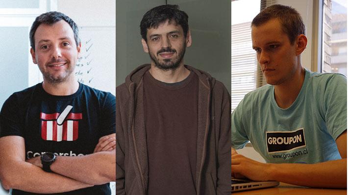 Espíritu emprendedor: Quiénes son los tres fundadores de Cornershop, la plataforma que compró Walmart