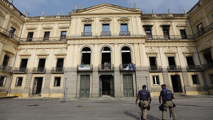 Unesco estima que la restauración de museo incendiado en Río de Janeiro llevará 10 años