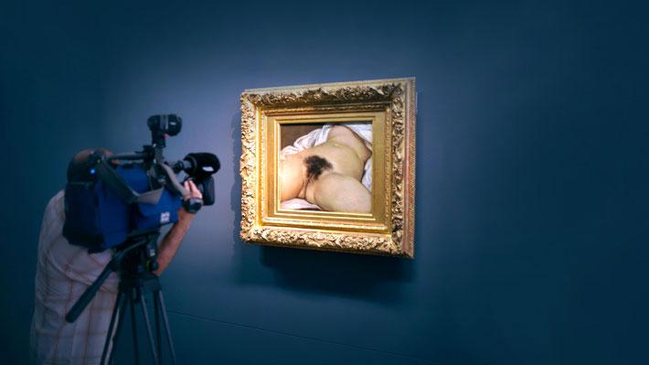 """Escritor descubre la identidad de la modelo del famoso desnudo """"El origen del mundo"""" de Gustave Courbet"""
