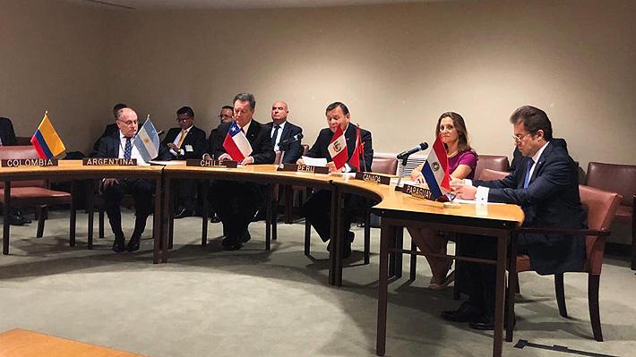 Chile y otros cinco países oficializan petición a la Corte Penal Internacional para que investigue a Venezuela