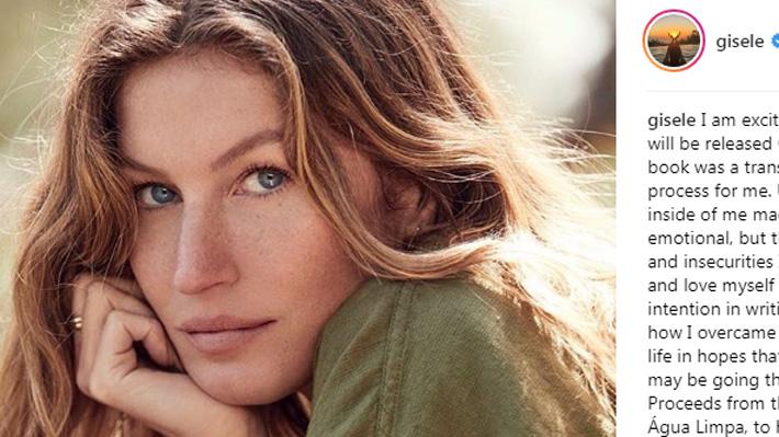 Gisele Bündchen reveló un duro pasado con ataques de pánico, alcohol y angustia