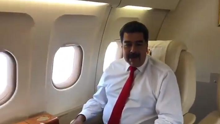 """Maduro llega a Nueva York para participar en la ONU y """"defender la verdad de Venezuela"""""""