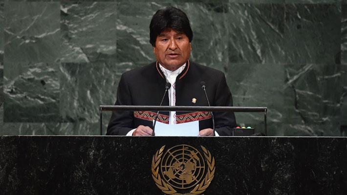 """Morales se refiere a demanda marítima en la ONU y asegura que Bolivia busca """"negociación fructífera"""""""
