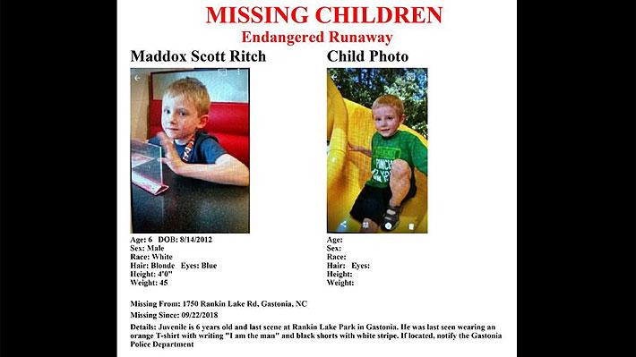 Hallan cuerpo que correspondería a niño de seis años con autismo desaparecido en EE.UU.