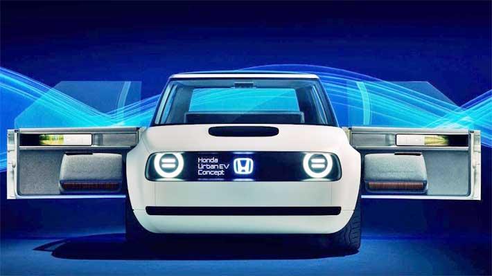 Así será el auto retro con motor eléctrico que Honda comenzará a fabricar en 2019