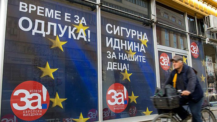 """Macedonia se enfrenta a """"una decisión histórica"""" sobre su cambio de nombre"""