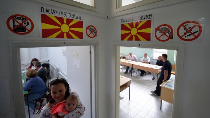 El 91% de los macedonios que votaron en referéndum apoyaron el cambio de nombre del país