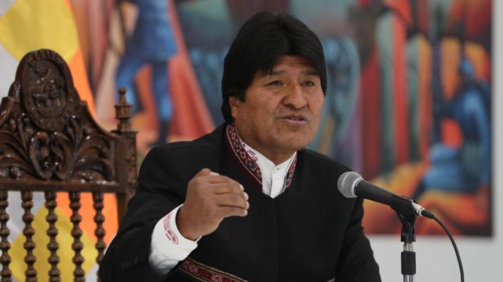 """Evo Morales evita hablar de derrota en La Haya y denuncia """"contradicciones"""" en fallo de la Corte"""