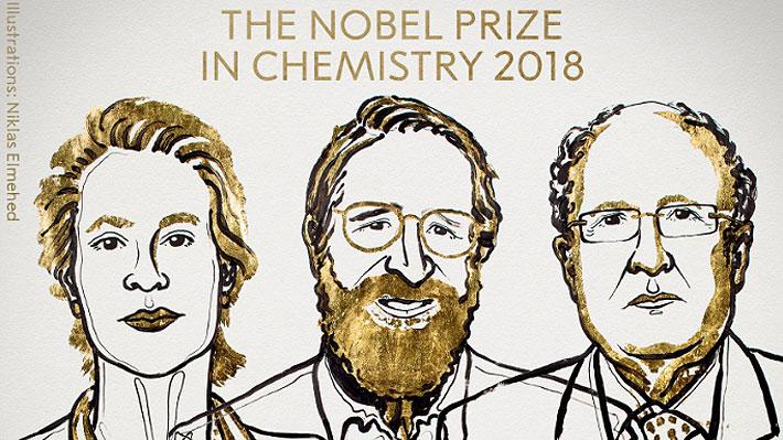 Dos estadounidenses y un británico ganan Premio Nobel de Química por descubrimientos en genética
