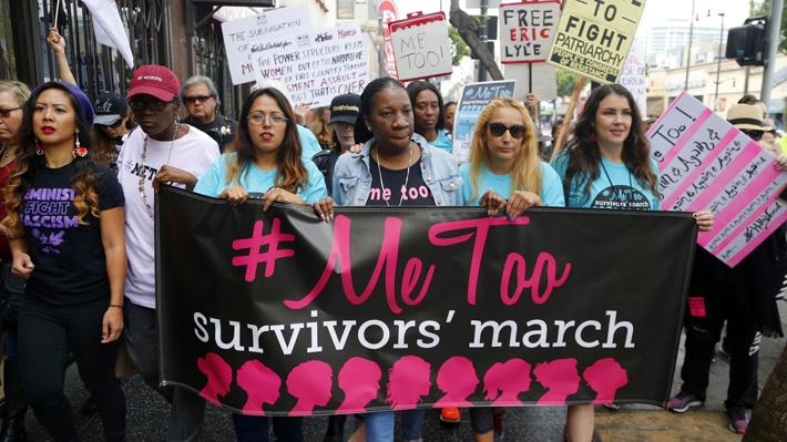 Me Too, el movimiento que incentiva a las mujeres a denunciar la violencia sexual, cumplirá un año