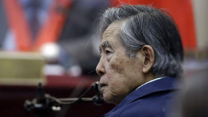 Alberto Fujimori fue trasladado a una clínica tras anulación de su indulto