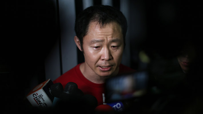 """Kenji Fujimori dice que luchará """"en todas las instancias judiciales y políticas"""" para """"defender la libertad"""" de su padre"""
