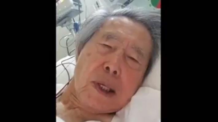 """Fujimori pide no volver a la cárcel tras revocación de indulto: """"Por favor no me maten"""""""