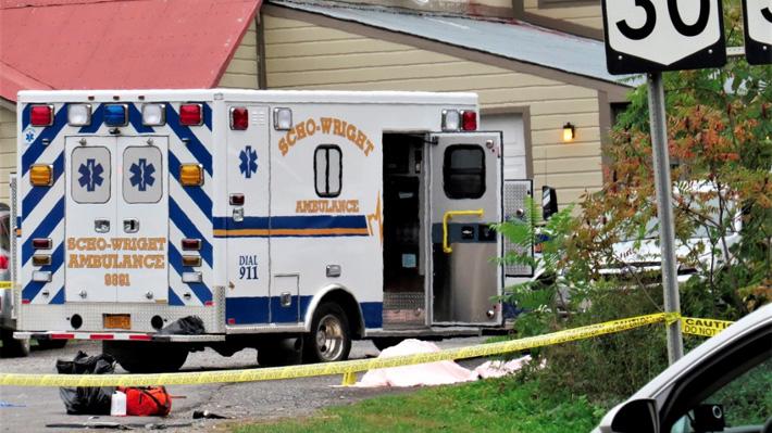 Choque de limusina deja 20 personas fallecidas en Nueva York