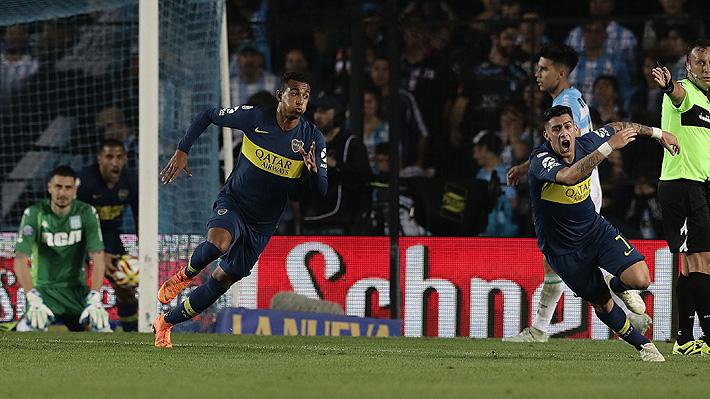"""Arquero de la """"Roja"""" rompió un récord de imbatibilidad, pero falló en los dos goles con los que Racing empató con Boca"""